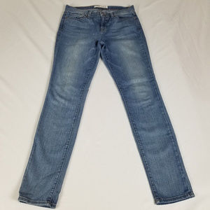 J Brand Jeans Skinny Leg Santorini Low Rise